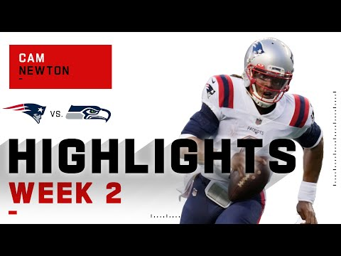 Cam Newton GOES OFF W/ 397 Passing Yards & 3 TDs | NFL 2020 Highlights