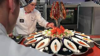Team USA at the Bocuse d'Or 2017, Lyon. Exclusive videos!