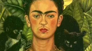 """A World of Interest: Frida Kahlo's """"Self-portrait with Thorn Necklace and Hummingbird"""""""