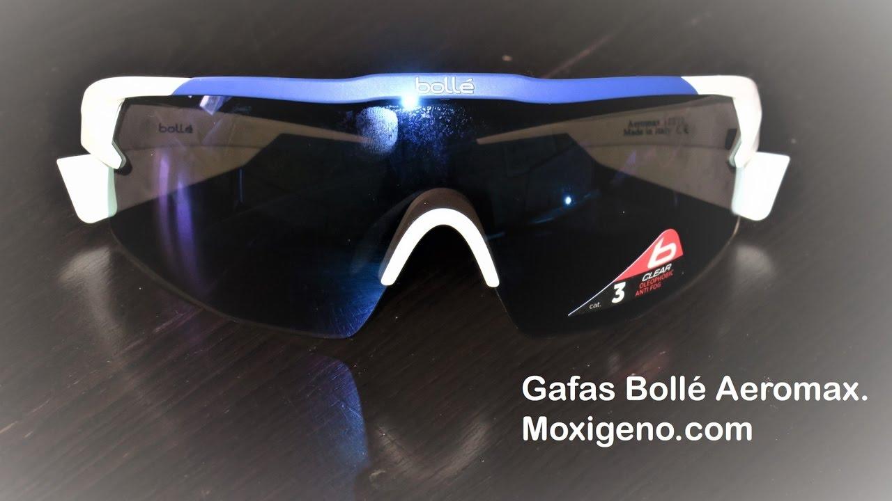 c1ff3118ae Bolle Aeromax: Gafas ciclismo y deporte. Analisis @mundo mtb para  moxigeno.com
