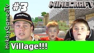 Minecraft HobbyPig 3 Village Xbox 360 Gameplay Webcam by HobbyGamesTV