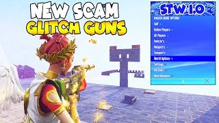 So This NEW SCAM Glitches Guns 😱 (Scammer Gets Scammed) Fortnite Save The World