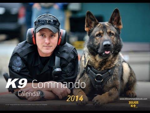 Download Youtube: K9 Commando Calendar 2014