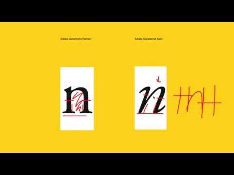 Considerations when Designing Italics: Fontribute Review of Adobe Garamond