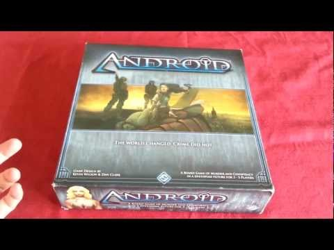 Android board game overview part 1 - Components
