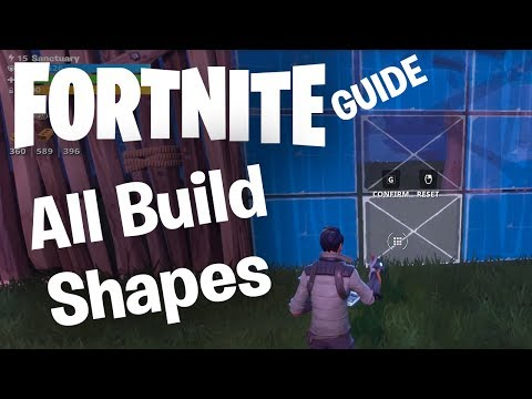 Fortnite Building Guide: All Wall Shapes, Staircases, Floors & Roof Segment Patterns