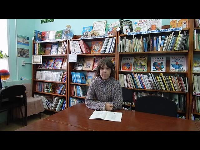Изображение предпросмотра прочтения – МиланаБаршацкая читает отрывок изпроизведения «Мороз, Красный нос» Н.А.Некрасова