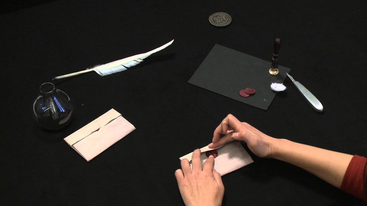 Letterlocking MITu0027s Founder William Barton Rogers letter