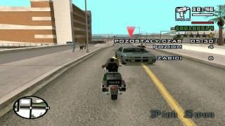 Grand Theft Auto San Andreas #033 Wnerw na motorze