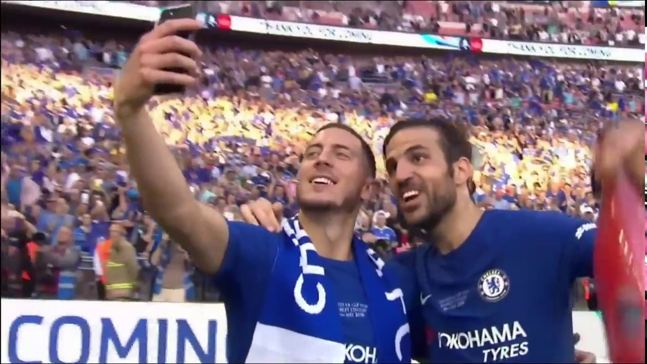 Download Chelsea FC lift 2018 FA Cup vs Manchester United
