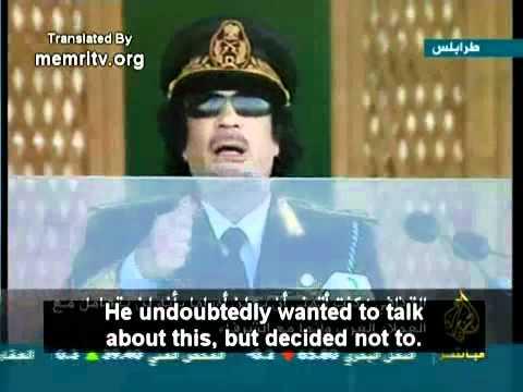 Gaddafi Assassinated After Exposing Obama as a Kenyan-born Muslim