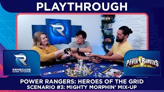 Power Rangers: Heroes of the Grid - Mighty Morphin' Mix-up