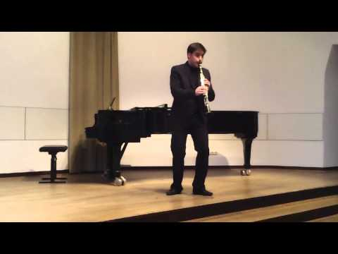 Solo Clarinet - Hommage Richard Strauss (Bela Kovacs).