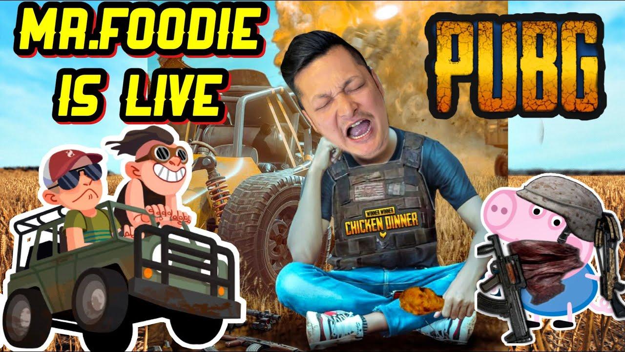 Download AWM KO KHOJI MA || PUBG MOBILE || MR. FOODIE IS LIVE