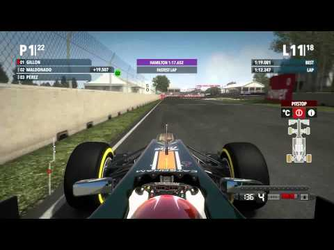 F1 2012 - Career - Montreal, Canada - Race - Commentated