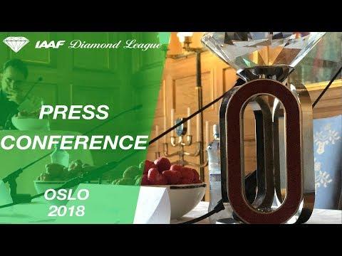 Oslo 2018 Press Conference - IAAF Diamond League