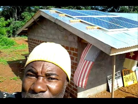 Radio Taboo Solar Powered Radio Station - Cameroon