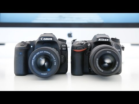 Canon 80d vs Nikon D7200 - Head to head comparison!