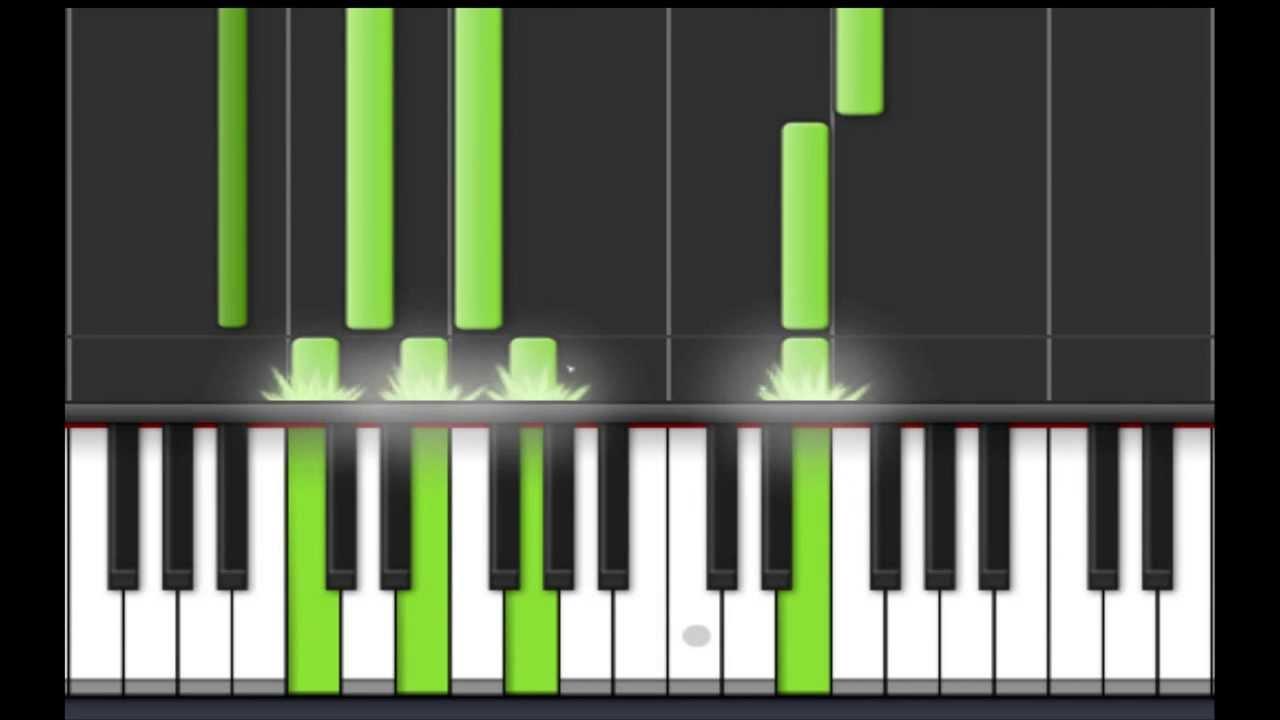 Como tocar para elisa en piano facil | principiantes tutorial.