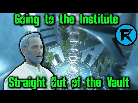 Fallout 4 | Going to the Institute Straight Out of The Vault