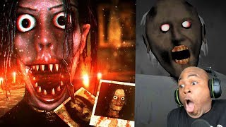 Live-streaming Scary Games | GRANNY, AYUWOKI & MORE SCARY GAMES