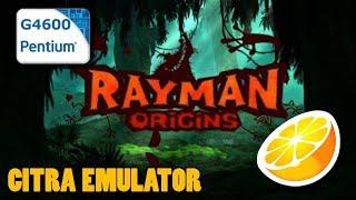 Citra Emulator - Rayman Origins - Pentium G4600 - Test