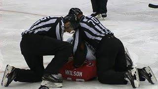 Wilson drops Thornton in quick fight for Sharks veteran