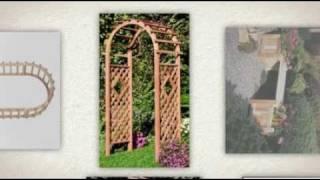 Www.garden-arbors.com - Trellises, Pergolas And Garden Arbors