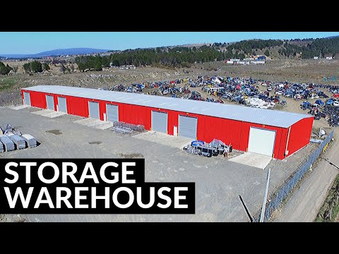Storage Warehouse, Steel Building