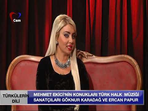 Mehmet Ekici Ile Türkülerin Dili 30 Nisan 2019 ( Göknur Karadağ Ve Ercan Papur)