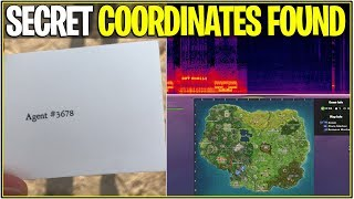*NEW* Fortnite: SECRET AGENT NUMBER UPDATED AND DECODED MESSAGE SOLVED! | (Rocket Is Returning?)
