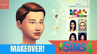 The Sims 4: Current Household Makeover! | SoleilTech
