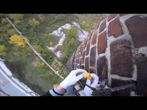 D5 T5 GEOCACHING IN BRATISLAVA (CHIMNEY CLIMBING)