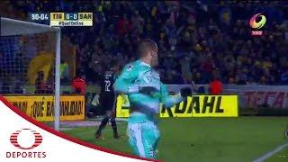 Rodríguez deja ir el triunfo | Tigres 0-0 Santos | Televisa Deportes