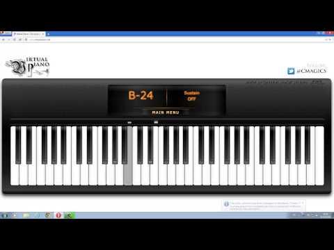 Bedroom Audio - ไม่บอกเธอ - Virtual piano