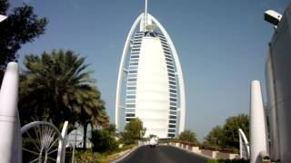 Bridge and Entry to Burj Al Arab - Dubai