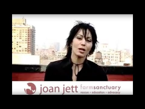 Joan Jett promo for Farm Sanctuary Halloween Bash!