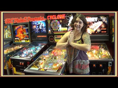 CYCLONE Pinball Machine ~ GRC Feature Review! Rules! Rollover Score Gameplay!