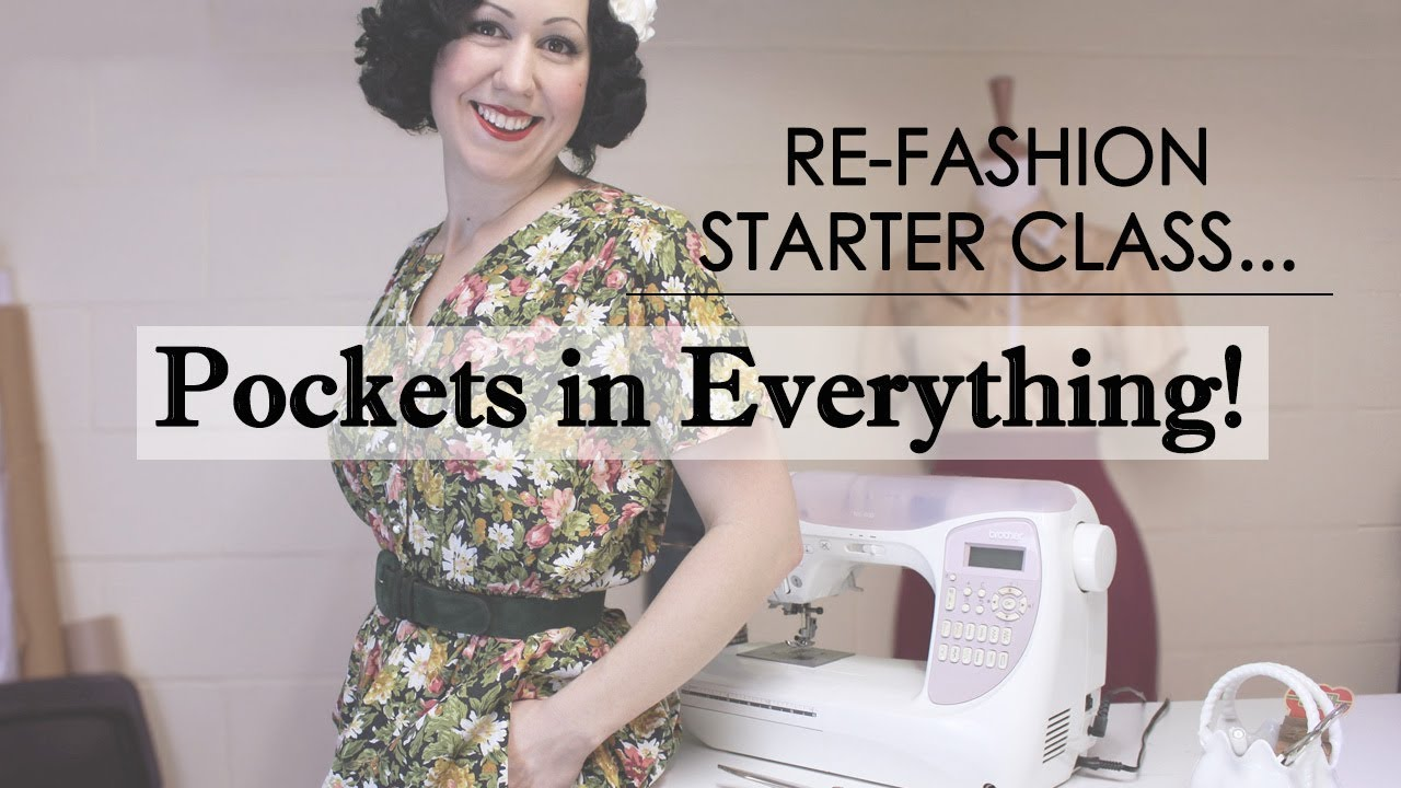 a5c2de5c0b5 Want to learn how to put pockets in everything   Join my FREE class ...