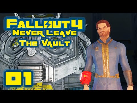Fallout 4: Vault-Tec Workshop DLC - Never Leave The Vault Challenge - Part 1 - Overseer Dood