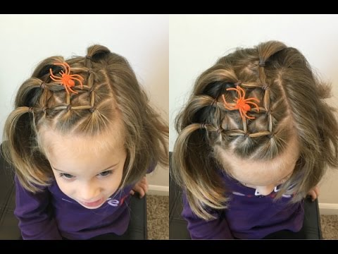 Spider Web Hairstyle - Elastic Style For Short & Long Hair