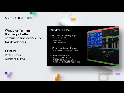 Windows Terminal: Building a better command line experience