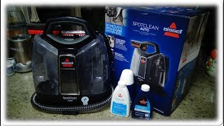Bissell SpotClean Auto Use/Review on Car Seats