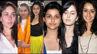 10 Bollywood Actress Without Makeup 2016 LATEST|Bollywood celebrity secrets
