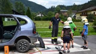 Hinterstoder - Ein actionreicher Nachmittag bei der Feuerwehr