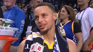 Stephen Curry On His Shooting - Postgame Interview | Warriors vs Lakers - February 2, 2019