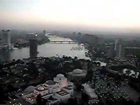 Cairo Tower Panoramic View