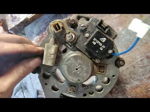 Горит контрольная лампа аккумулятора. Замена диодного моста Ваз 2109 .