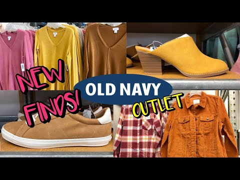 OLD NAVY OUTLET SHOP WITH ME CLOTHES & SHOES ** NEW FALL FASHION