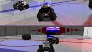 Thanksgiving Special: Tyrantking10 VS. TheDDPikachu! Monster Truck Madness 64 - Round Two!